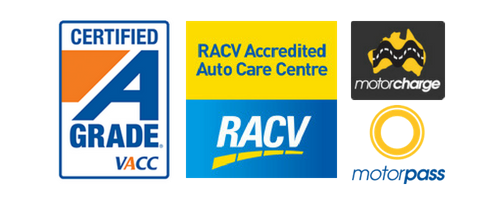 VACC Certified, RACV Accredited Auto Care Centre, MotorChange, MotorPass